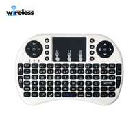 Wholesale fly android tablet for sale - Group buy Mini Rii i8 Wireless Keyboard G English Fly Air Mouse Keyboard Remote Control Touchpad for Smart Android TV Box Notebook Tablet Pc