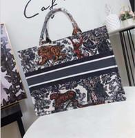 Wholesale free canvas bags for sale - Group buy 2020 New Fashion shopping bag women canvas handbag large Shoulder Bags
