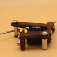 çinko alaşım dövme makinesi toptan satış-Profesyonel Krom Çelik Rotary Dövme Makineli Tüfek Alüminyum Motor Shader / Astar