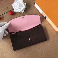 carte ms achat en gros de-Designer New Leather Multicolor portefeuille bourse Date Code Designer Portefeuille court titulaire de la carte Mme Mens Classic Zip Pocket shpping gratuit