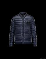descuento de la chaqueta de los hombres s al por mayor-Brand Winter Down Jacket Men S Warm Coat Discount Chaquetas de moda de lujo Hombres Acolchado Hombre Abrigos Alto 90