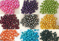 2018 new fashion DIY beads ROUND Natural freshwater pearl 6-7mm Bulk multicolor grade particle pearl beads for DIY JEWELRY MAKING