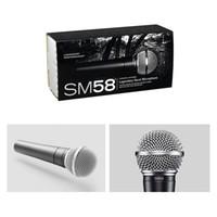 yüksek kaliteli mikrofonlar toptan satış-Kapalı Sıcak SM 58 S Dinamik Vokal Mikrofon ile Sahne Ve Ev Kullanımı İçin Vokal Kablolu Karaoke El Mic YÜKSEK KALİTE geçin