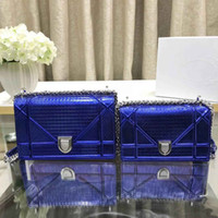 Wholesale ladies small wallet for sale - Group buy 2019 brand fashion luxury bag designer Tengge twill lady bag new shoulder bag designer wallet