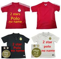 Wholesale national soccer sleeve for sale - Group buy New Algeria national football team home red polo shirt jersey men s football shirt football shirt short sleeve polo uniform