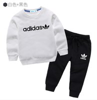 Wholesale children cashmere sweater for sale - Group buy 20 Kids Sets jacket sweater and Pants sets Children Sport Set Baby Boys Girls Winter Coats Pants Sets