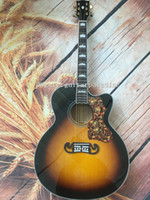 Wholesale 43 inch guitar resale online - Custom guitar inch spruce top maple sides and back cutaway acoustic guitar