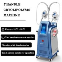 Wholesale radio times for sale - Group buy Newest fat freezing handles weight loss radio frequency rf facial cryo skin cryo handles can work at the same time
