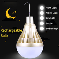 Wholesale leds bulbs for sale - Group buy Led Lamp Smart Bulb Bombillas LED Light Ampoule Leds Lamps USB Rechargeable Home Lights Bulbs Emergency for Camping Lighting