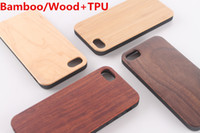 Wholesale wood shell carving online – custom Real Bamboo Wood Case TPU For iPhone X XS Max XR Hard Cover Carving Wooden Bamboo Samsung Smartphone Shell Protector