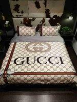 königin könig betten großhandel-Luxusbettwäschesätze des Designers König oder Königingrößenbettwäschesätze Bettlaken 4pcs Deckbettluxusbettdeckensätze