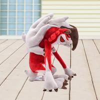 packen spielzeug maschine großhandel-12-Zoll-Pokemons Lycanroc Plüschtiere weiche gefüllte nette Schnappen Maschine Puppe für beste Geschenk Kinder Geburtstag lol