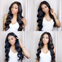 doğal renk brezilya kıvırcık saç toptan satış-Uzun Dalgalı Kıvırcık Saç Peruk Lady Sentetik Saç Elyaf Yüksek Sıcaklık Fiber Doğal Renk Brezilyalı Saç Net Vücut Wav