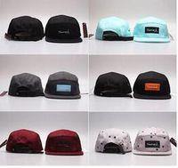 Wholesale army style caps resale online - Cheap newest style fashion diamond Men Baseball Cap diamond panel Snapback Outdoor Sports bone casquette Hats Mix Order