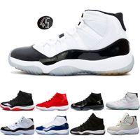 promo code e0bbb 99a4e nike air jordan AJ retro Designer Turnschuhe Herren Basketball Schuhe 11  11s Concord 45 Cap und Kleid Prom Night Gym Red Breed Gamma blau PRM Erbin  Barons ...