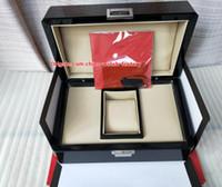 boxing gift venda por atacado-Luxo Top Qualidade PP Assista Caixa De Papelão Originais Cartão De Madeira Caixas De Presente Bolsa 22 CM * 18 CM Para Nautilus Aquanaut 5711 5712 5990 5980 relógios