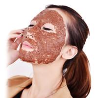 máscara diy anti envelhecimento venda por atacado-5/8 / 10Pack Seaweed Máscara Facial Anti-envelhecimento Hidratante Patch Hidratante Algas Máscara Mineral DIY Máscaras Máscaras Patches de controle de Óleo