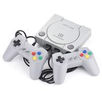 jugador de cartas av al por mayor-Consola de juegos Retro Classic Consola de juegos Arcade 648 incorporada con Joysticks RS-70 Mini HD Home TV Consola de juegos NES Sega FC