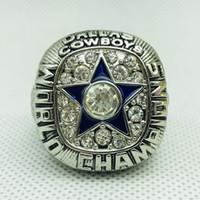 meisterschaft ring dallas großhandel-1971 Dallas Cowboy World Championship Rings Sportringe