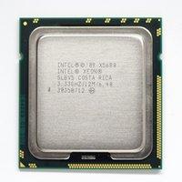xeon sunucu cpu toptan satış-Intel Xeon X5680 3.33 GHz LGA1366 12 MB L3 Önbellek Altı Çekirdekli sunucu CPU işlemcisi