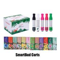 glaszerstäuber großhandel-Smartbud Smart-Carts Cartridges löschen Exotic Ausgabe Magnetic Box Rosa SmartCart 0,8 ml 1,0 ml Glas-Behälter 510 Ceramic Coil Thick Ölzerstäubern