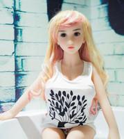 ingrosso bambola realistica di amore del seno-TPE Bambola del seno grande Realistica bambola da amore per adulti da 100 cm 18 sesso per uomo