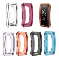 Wholesale clear watches resale online - Soft TPU Watch Protection Case Anti scratch Full Cover for Fitbit Inspire Inspire HR TPU Protection Cover Watch Accessories