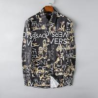 ingrosso camicie di cotone oxford-2019 nuova camicia di cotone a maniche lunghe da uomo autunno e inverno di lusso puro maschile casual POLOshirt moda camicia Oxford marchio di abbigliamento sociale