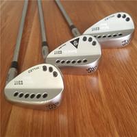 geschmiedete golfkeile großhandel-0311T SUGAR DADDY Golf Wedge Standard DARKNESS Limited Silbergeschmiedeter Golf Club Wedge 46/48/50/52/54/55/56/58/60 Stahlschaft