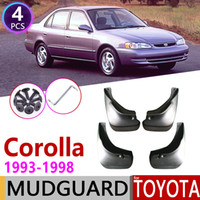 Wholesale cars mud guards resale online - Car Mudflap for Corolla AE100 E100 Fender Mud Guard Splash Flaps Mudguards Accessories th