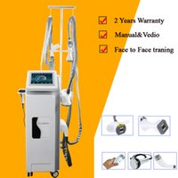 Wholesale slimmer beauty massager for sale - Group buy New Massager Machine Vacuum Cavitation Slimming Velashape Machine multi function slimming beauty machine Infrard Laser skin tightening