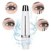 ingrosso testa della spazzola dell'acne-Massaggiatore elettrico Mini Eye 4 modalità regolabili Antirughe Rughe Dark Circle Eye Massage Strumento per la cura dello strumento