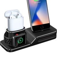 ingrosso stazione di guardia di mele-Supporto di ricarica compatibile con Apple Watch, 3 in 1 stazione di ricarica in silicone compatibile con Apple Watch