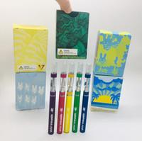epoksi marş kiti toptan satış-Moonrock E-sigara Setleri Şarjlı 350mah Vape Pil 0.8ml 1.0ml Boş 510 Arabaları İpuçları Basın-Petrol Tankı Kartuş Paketleme