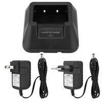 cargador de coche baofeng al por mayor-UV-5r Cargador de batería USB / Cargador de batería de automóvil Para Baofeng UV-5R DM-5R Plus Radio Portátil Mini Walkie Talkie