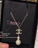 Wholesale sterling clothes for sale - Group buy New style Party necklace Gift Pearl diamond women Fashion Jewelry Mix design Fashion jewelry women clothing Clavicle Chain Necklace di o7