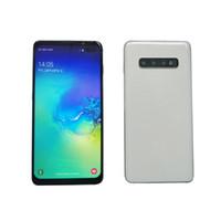 goophone 8mp doppelkern großhandel-2019 Goophone S10 + 6,5 Zoll Viererkabelkern MTK6580 Android 3G Telefon 1 GB RAM 16 GB ROM 1280 * 720 HD 8MP entriegeltes Mobiltelefon
