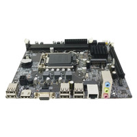 h61 escritorio al por mayor-Durable Sobremesa de alta compatibilidad Interfaz H61 Ranuras de memoria Ordenador Placa base USB 2.0 Actualización de CPU Práctico DDR3 1155 Pin