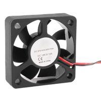 cojinete del ventilador 12v al por mayor-50mm 12V 2Pin 4000RPM Manga Rodamiento PC Case CPU Cooler Ventilador de refrigeración