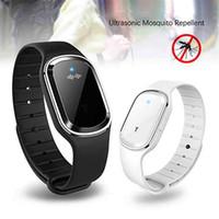 3g montre téléphone portable achat en gros de-Portable anti-moustique électronique étanche bracelet de montre Bracelet anti-moustique anti-moustiques pour femmes enceintes tueur de moustiques USB cha