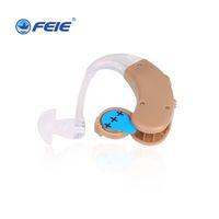 işitme cihazları satışları toptan satış-2019 yeni tasarım Feie sıcak satış İşitme Cihazları arkasında Kulak Ses Amplifikatörler hızlı kargo S-998 ile Gürültü Bastırır