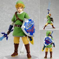 Wholesale zelda link action figure resale online - Zelda Figure Legend Of Zelda Figma Link Action Figure cm Great For Collection Nintendo ds Link Figure Y190604