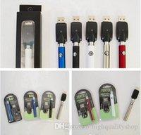 ingrosso inserire la cartuccia ce3-Vape Pen Battery 510 Thread Batterie 350mAh 3.4V-4.0V O-pen Ego Preriscaldamento Batteria per CE3 g2 Serbatoio Cartucce Serbatoio E Sigaretta