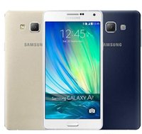 Wholesale unlocked inch 4g android cell phones resale online - Refurbished Original Samsung Galaxy A7 A7000 Dual SIM Unlocked Cell Phone Octa Core GB GB Inch MP G LTE