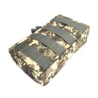 ingrosso grande telefono chiave-Hewolf Outdoor Sports Bag Mini Tool Kit Bag Zipper Vita Grande Tactical Pouch Key Phone Pack Per Escursionismo Caccia Viaggi # 664599