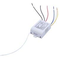 interruptor de controle sem fio digital venda por atacado-220V 3 Canal Wireless Switch Controle Remoto Digital Controle Remoto Switch para Lâmpada Luz Material Elétrico de Instalação