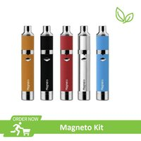 werkzeugsatz dampfspule großhandel-Original Magneto Vape Pen Kit mit 1100mAh Batterie Magnetspule Cap und Dab Tool Retail Für Starterdämpfe