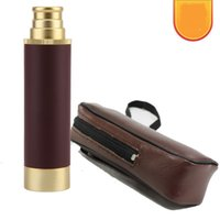 Wholesale compact night vision resale online - Pirate Telescope Single Cylinder Mini Shimmer Night Vision Telescopes Annual Meeting Gift x30d Retro Factory Direct Selling cd C1