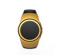 Wholesale bluetooth speaker watches for sale - Group buy 2019 B20 smart watch with self timer anti lost alarm music sport mini Bluetooth speaker support TF card FM radio hands free YX