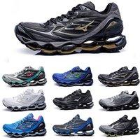 koşu için en iyi koşu ayakkabıları toptan satış-Mizunos Dalga Kehanet 6 6 s Koşu Ayakkabı En İyi Kalite infinity Dalga Tasarımcı Koşucu Erkekler Kadınlar Için Spor Ayakkabı Koşu Yürüyüş Eur 36-45